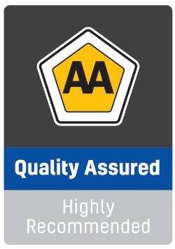 AA quality assured badge