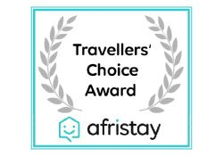 travellers choice award_afristay monte video guest house